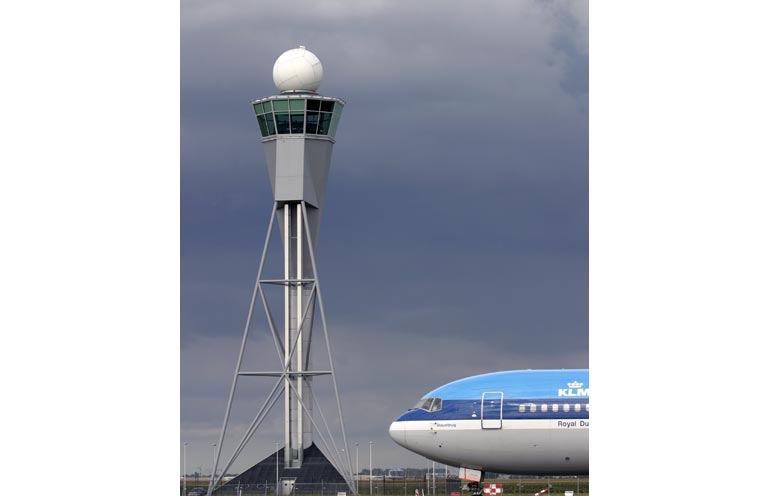 Schiphol control tower