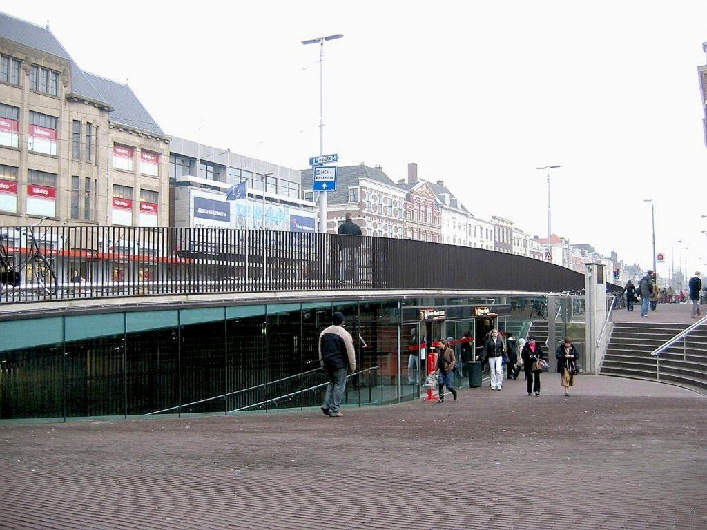 Underground tram tunnels in Den Haag