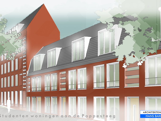 Student accommodation in Delft