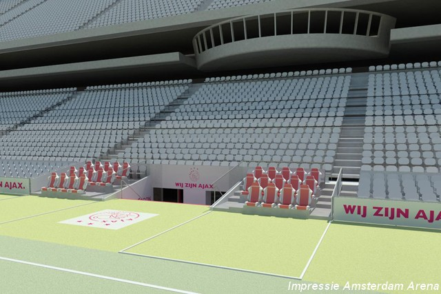 Amsterdam AreaA – seating expansion