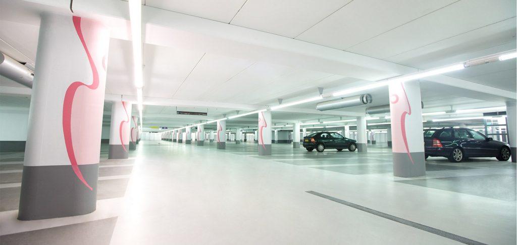 Tournooiveld parkeergarage