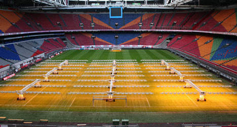 Ajax Stadium, lighting and control systems