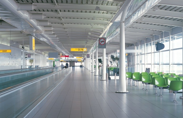Schiphol Airport new piers