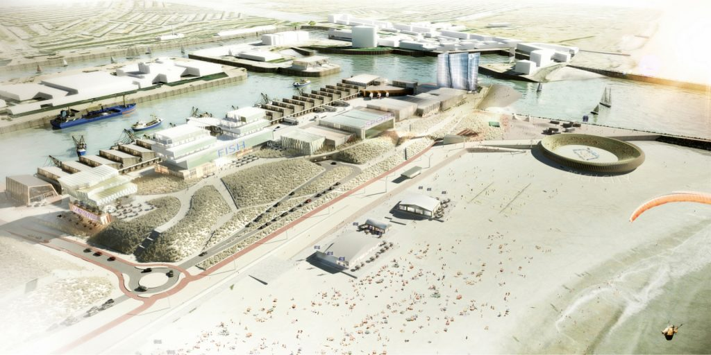 Development of Scheveningen port