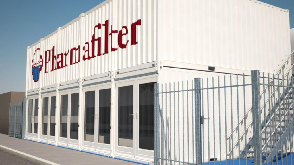 Pharmafilter Reinier de Graaf
